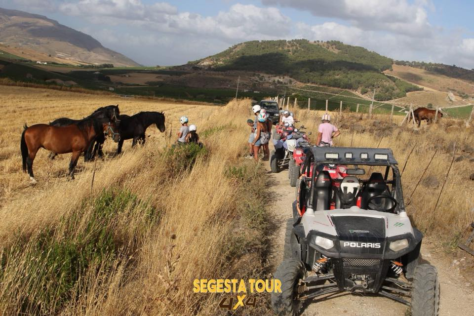 Quad Biking Tour Segesta Tour 4×4