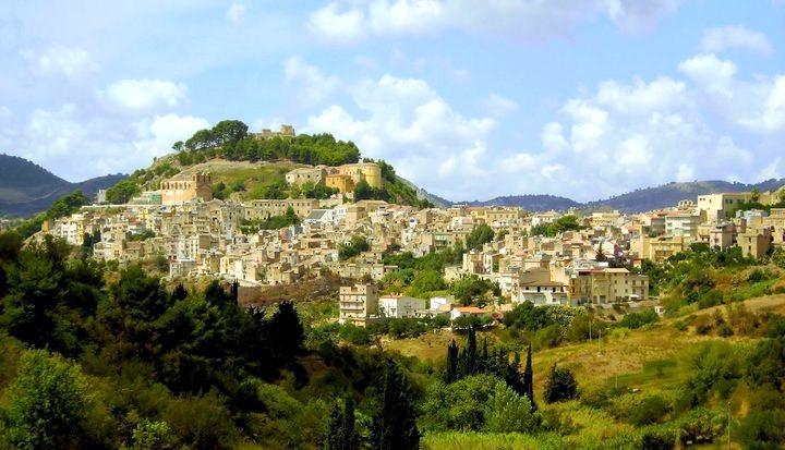 Visite de la ville de Calatafimi Segesta